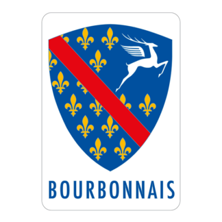 Autocollant Blason Bourbonnais