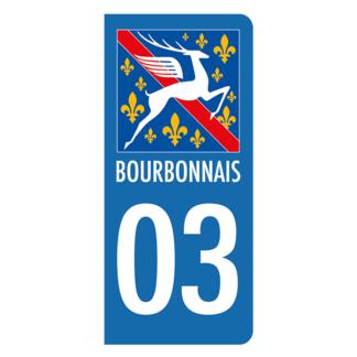 autocollants Bourbonnais CF005 vinyle