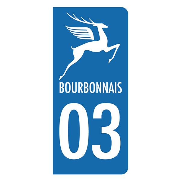 Autocollant Bourbonnais CF006 vinyle