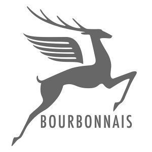 Autocollant bourbonnais Cerf Gris