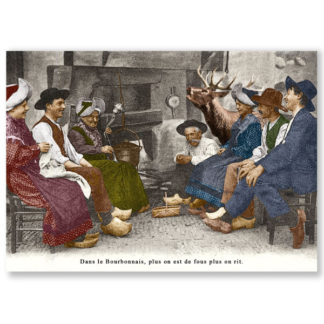 Carte postale n°102 sur papier cartonné rit