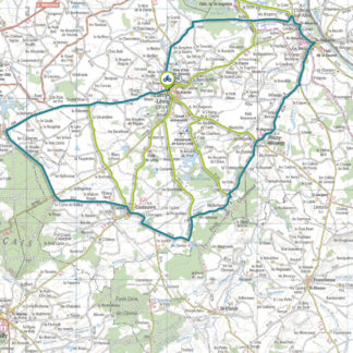 Tracé GPS du circuit 6 : Marches du Bocage