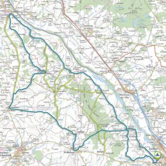 Tracé GPS du circuit 7 : Val d'Allier Nord Allier