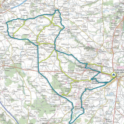 Tracé GPS du circuit 10 : Route des châteaux