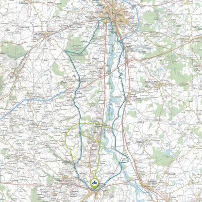 Tracé GPS du circuit 11 : Vignoble Saint-Pourcinois