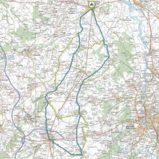 Tracé GPS du circuit 13 : Limagne bourbonnaise