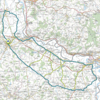 Tracé GPS du circuit 15 : Au fil des canaux