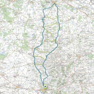 Tracé GPS du circuit 18 : Val de Besbre Nord