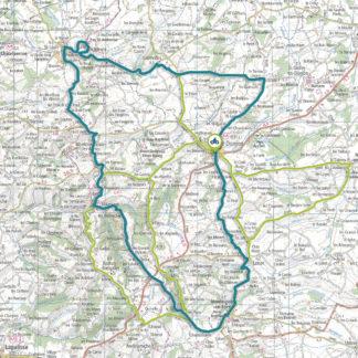 Tracé GPS du circuit 19 : Au pays des Donjons
