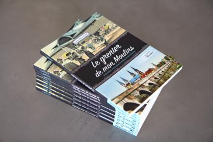 livre grenier de mon moulins anecdotes trouvailles insolites et succulentes louis delallier editions bertines