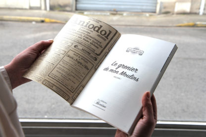 livre Editions bertine Louis delallier grenier de mon moulins