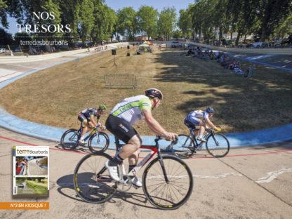 terre des bourbons vélo coureurs vélodrome histoire