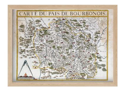carte du bourbonnais
