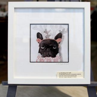 bulldog illustration graphiste